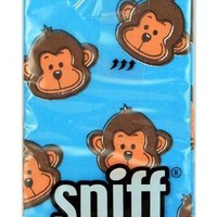 SNIFF! - Assorted Monkey Tissues - Home Decor - Stuffed Monkeys, Monkey Gifts, Monkey Toys, Monkey Apparel @ MonkeyGiftShop.com