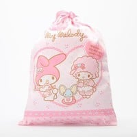 My Melody Draw-String Bag: Cafe