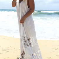 Casual Lace Cute Suit Sexy Halter Solid Color Dress