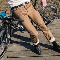 Khaki Bike to Work Britches - Betabrand
