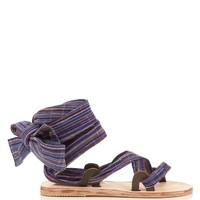 Zanzibar Bovine ankle-wrap sandals | Brother Vellies | MATCHESFASHION.COM US