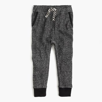 Girls' Marled Cotton Sweatpant : Girls' Pants | J.Crew