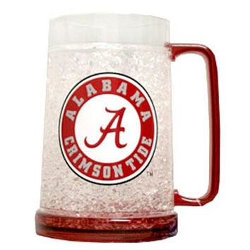 Alabama Crimson Tide NCAA Crystal Freezer Mug