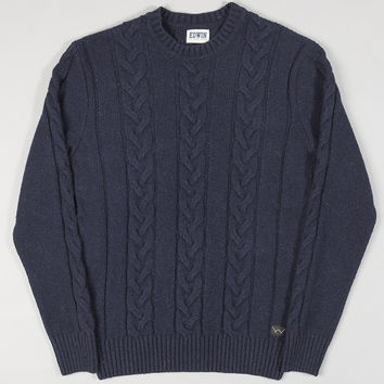 Edwin Shackle Crewneck Navy