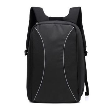 Cool Backpack school Men's Antitheft 13 15 inch Laptop Backpack External USB Charge Traveling Notebook Computer Carrying Case Waterproof School Bag AT_52_3
