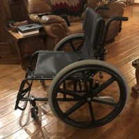Quickie GPV Wheel Chair 22W X 17L