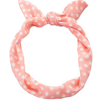 Flexible polka dot headband - HAIR ACCESSORIES - ACCESSORIES -Stradivarius United Kingdom