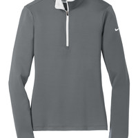 Nike Golf Ladies Dri-FIT Stretch 1/2-Zip Cover-Up | Polyester Fleece | Outerwear | SanMar