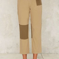 Patch and Go Cropped Pants