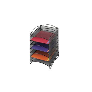 Safco Products Onyx Steel Mesh Lliterature Sorter