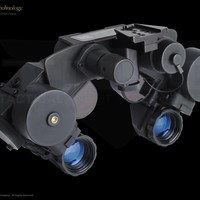STS AN/PVS-21 LPNVG STS Low Profile Gen 3 Thin Filmed Night Vision Dual Goggle System