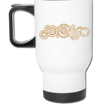 Doctor Who Gallifrey Name - Travel Mug
