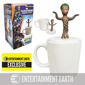Guardians of the Galaxy Baby Dancing Groot Figural Mug - Entertainment Earth Exclusive