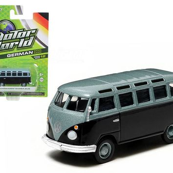 Volkswagen Samba Van Type 2 (T1) Motor World 1/64 Diecast Car Model by Greenlight