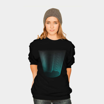 Glass Half Abstract Sweatshirt By Daniacdg Design By Humans