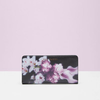 Ethereal Posie leather matinee purse - Black | Purses | Ted Baker UK