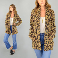 RALPH LAUREN Leopard Wool Sweater