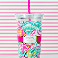 LILLY PULITZER: Tumbler - Oh Shello