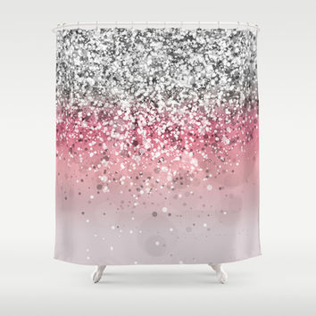 Spark Variations VII Shower Curtain by Rain Carnival