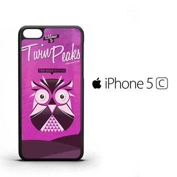 Visit Twin Peaks A0015 iPhone 5C Case