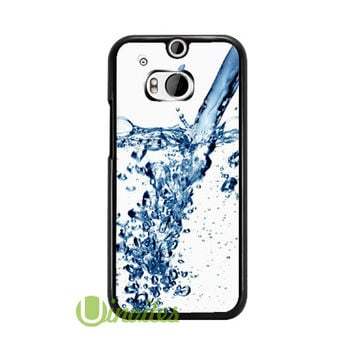 Water With apple Log  Phone Cases for iPhone 4/4s, 5/5s, 5c, 6, 6 plus, Samsung Galaxy S3, S4, S5, S6, iPod 4, 5, HTC One M7, HTC One M8, HTC One X