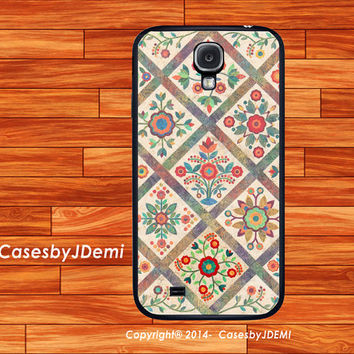 Patchwork-Quilt, Samsung Galaxy S4 case, iPhone 4 /4S case, iPhone 5 /5c/ 5s, , Samsung Galaxy Note2, Galaxy Note 3, Galaxy S3, S3/S4 mini