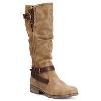 SO® Women's Block-Heel Riding Boots