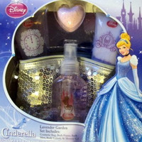 Disney Princess Cinderella Lavender Garden Set for Bath