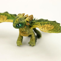 Baby Toothless Night Fury Dragon Sculpture httyd figurine How to train your dragon fantasy animal creature art sculpture magic gif