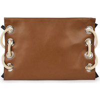 MARNI Satelite leather clutch