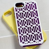 Tech Candy Jet Set Collection Cairo 3-Piece Iphone 5 Hard Soft Case