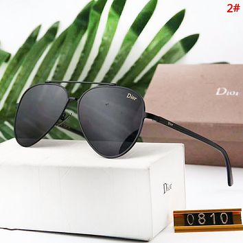 DIOR New Fashion Polarized Men Sunscreen Travel Glasses Eyeglasses 2#
