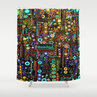 :: Chi-Town :: Shower Curtain by :: GaleStorm Artworks ::