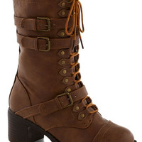 Scenic Thrive Boot in Timber | Mod Retro Vintage Boots | ModCloth.com