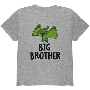 Big Brother Dino Dinosaur Pterodactyl Youth T Shirt
