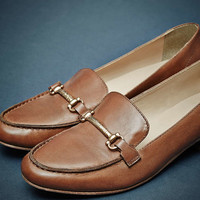 Koko Tan Bar Loafers - Urban Outfitters