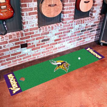 "NFL - Minnesota Vikings Putting Green Runner 18""x72"""