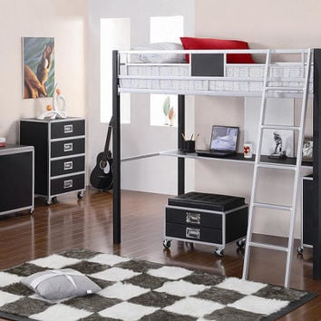 Essex Twin Size Study Loft Bed