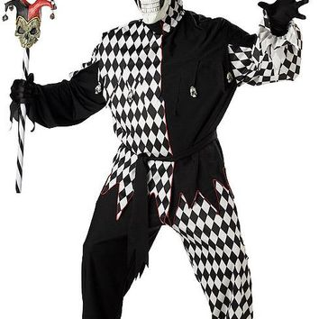 California Costumes Male Evil Jester Costume CC01627