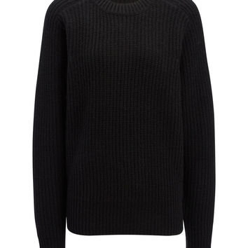 Cashmere Luxe Purl Sweater