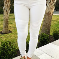 New Perspective Pants: White