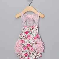 Baby Lace Halter Strap Leotard Climbing Clothes Baby Romper
