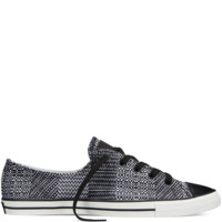 Converse Chuck Taylor All Star Dobby Weave Fancy Black Low Top