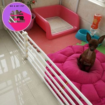 Playpen for Dogs Pets Indoor Retractable Pet Isolating Gate Room Plastic Dog Fence Baby Safety Gate Baby Stair Fence Door