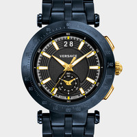 V-Race Sport Black Dial Watch