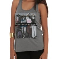 The Breakfast Club Character Labels Girls Tank Top 2XL
