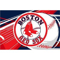 "NEW Boston Red Sox MLB Tufted Rug (59""x39"")"