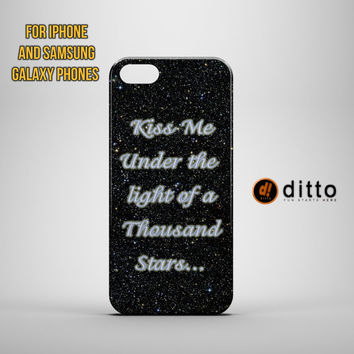 KISS UNDER THOUSAND Design Custom Case by ditto! for iPhone 6 6 Plus iPhone 5 5s 5c iPhone 4 4s Samsung Galaxy s3 s4 & s5 and Note 2 3 4