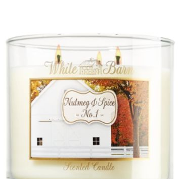 Nutmeg & Spice 14.5 oz. 3-Wick Candle   - Slatkin & Co. - Bath & Body Works