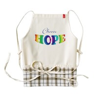 Choose Hope Zazzle Heart Apron